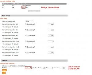 Neue DHCP Instanz erstellen