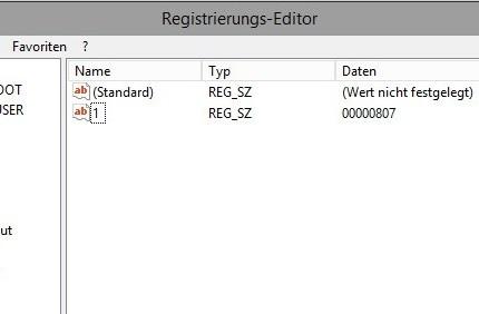 Server Core 2012 Eingabesprache ändern
