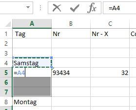 Excel Merged Cells_berichtigen